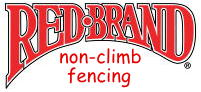 Red Brand Non-Climb Fence